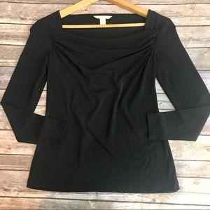 Banana Republic Women's Black Blouse, Size XS